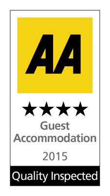 AA 4-Star guest accommodation