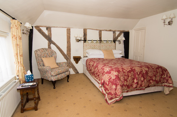 Deluxe rooms at the Abbey Hotel, Bury St Edmunds, Suffolk