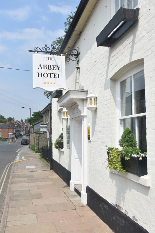 A warm welcome at the Abbey Hotel, Bury St Edmunds, Suffolk